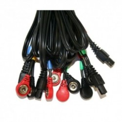 Câbles 6 pôles SNAP pour appareil Compex