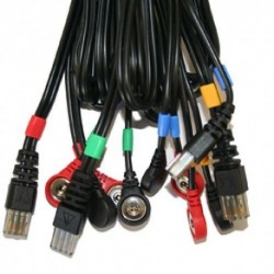 Câbles 8 pôles SNAP pour appareil Compex