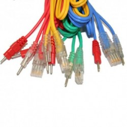 Câbles 8 pôles 2 mm Mâle pour appareil Compex