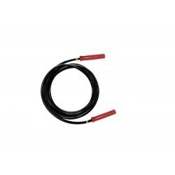 Câble Rouge pour Electrode sous vide