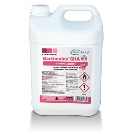 BACTIMAINS GHA - Gel Hydro Alcoolique - Bidon de 5 L