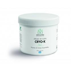 Argile de soin Cryo-K - Pot de 250 g