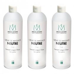 Crème Neutre PREMIUM MEDICAFARM - 3 x 1 L